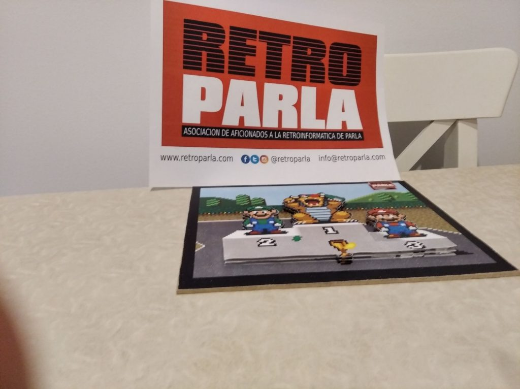 Shadow Box - Super Mario Kart